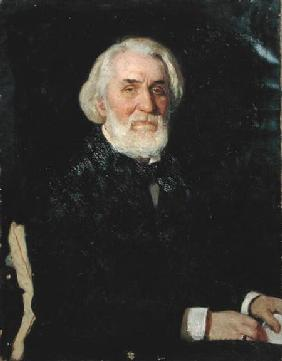 Portrait of Ivan S. Turgenev (1818-83) 1879