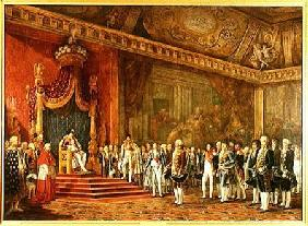 Napoleon (1769-1821) Receiving the Delegation from the Roman Senate 16th Novem