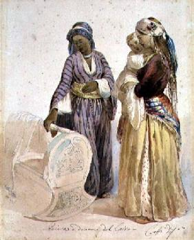 Slave and Woman from Cairo