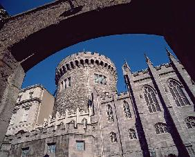 Dublin Castle, the Record Tower (photo)