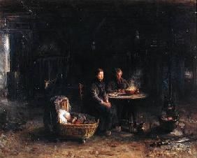 Lunch at a Farm in Karlshaven near Delden 1885