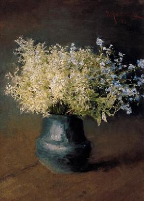 Wild Lilacs and Forget-Me-Nots 1889