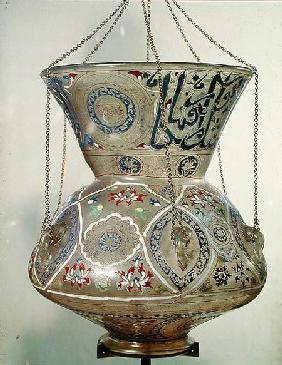 Lamp, from the Mosque of Sultan Hasan, Cairo