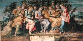 Apollo and the Muses 1600