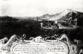 Francesco Morosini (1618-94) in an Incident off Cyprus 1654