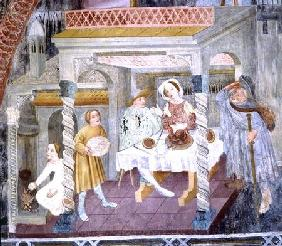 St. James Entering a House during a Meal, from the Story of St. James
