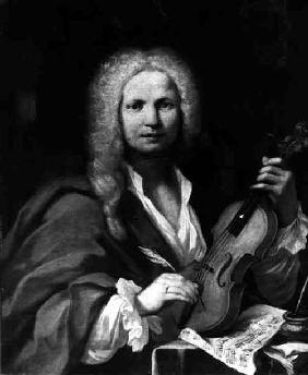 Portrait of Antonio Lucio Vivaldi (1678-1741)