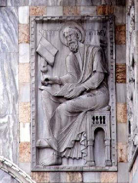 St. Matthew, relief from the north side of the basilica 12th-13th