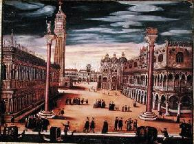 The Piazetta di San Marco, Venice