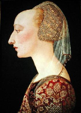 Portrait of a Lady in Red 1460-70