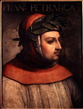 Portrait of Petrarch (Francesco Petrarca) (1304-74)