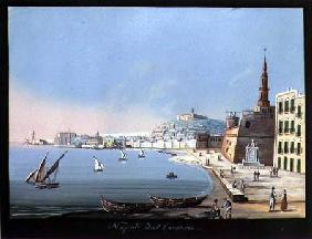 View of Naples from the Carmine c.1845