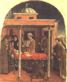 The Funeral of St. Jerome, Ferrarese School, 1450 19th