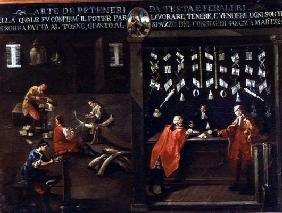 Sign of the Venetian Comb Makers' Guild (panel)