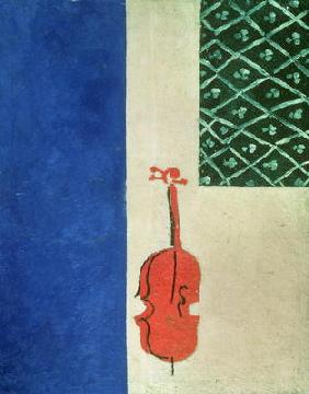 Red Violin, 1919 (oil on canvas) 1768