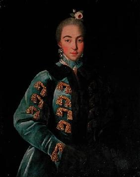 Portrait of Countess Anna Sheremetyeva c.1768