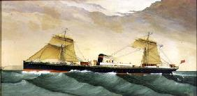 United States Mail Boat 1880
