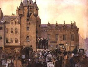 Before the Ballot Act, Canongate Tolbooth, Edinburgh 1884