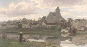View of Montigny-sur-Loing