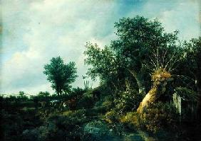 Landscape with a Hut 1646