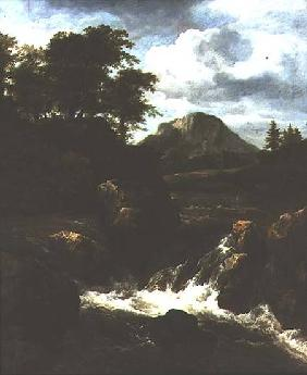 A Waterfall 1660s