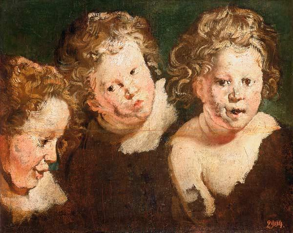 Three Childrens Heads c.1618