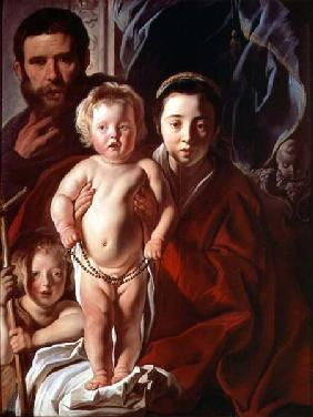 The Holy Family with St. John the Baptist c.1620-25