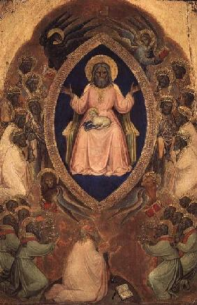 God the Father Enthroned from the Polyptych of the Apocalypse