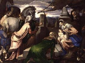 Adoration of the Magi 1563-64