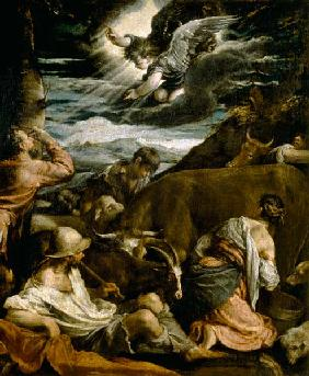 The Annunciation to the Shepherds c.1557-8