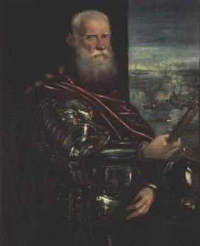 Portrait of Sebastiano Vernier (d.1578) Commander-in-Chief of the Venetian forces in the war against c.1571