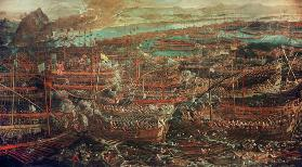 Naval Battle of Lepanto 1571 / Tintorett