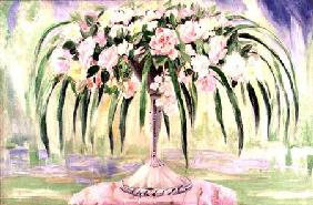 Roses in an Art Nouveau Vase