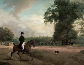 Kunstdruck von Jacques-Laurent Agasse - George Luving on horseback