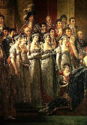 The Consecration of the Emperor Napoleon (1769-1821) and the Coronation of the Empress Josephine (17 1807