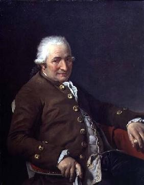 Portrait of Charles-Pierre Pecoul, father-in-law of the artist 1784