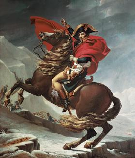 Napoleon Crossing the Alps c.1800