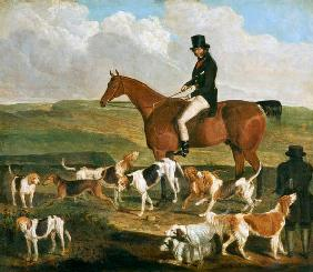 Tom Llewelyn Brewer on his Horse, 'The Doctor' c.1845