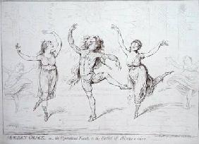 Modern Grace, or the Operatical Finale to the Ballet of Alonzo e caro published