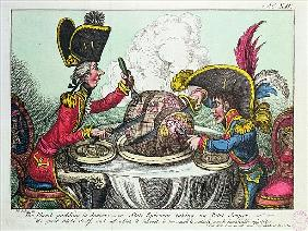 The Plum Pudding in Danger, 1805 (see also 152999)