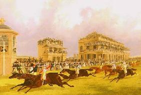 The Dead Heat for the Doncaster Great St. Leger Stakes between 'Charles XII' and 'Euclid' 1839