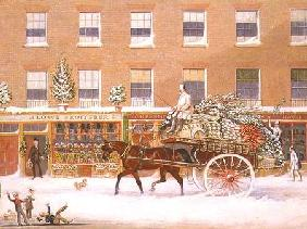 The Approach to Christmas 1849