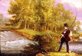 Trout Fishing on the Lea 1841