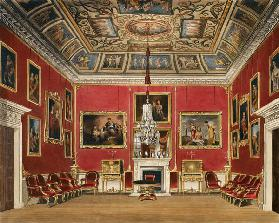 The Second Drawing Room, Buckingham House, from 'The History of the Royal Residences', engraved by T 1818
