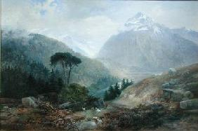 The View Toward the Fenderthal, Tyrol 1870