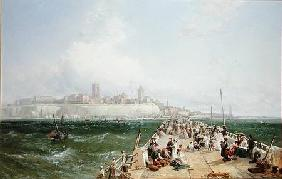 A View of Margate from the Pier 1868