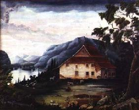 Washington's headquarters at Newburgh on the Hudson in 1775
