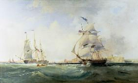 Whalers Entering the Tyne c.1830