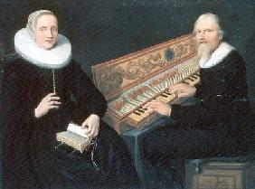 Couple at the Clavichord 1648