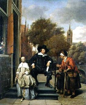 The Burgher of Delft and his Daughter 1655